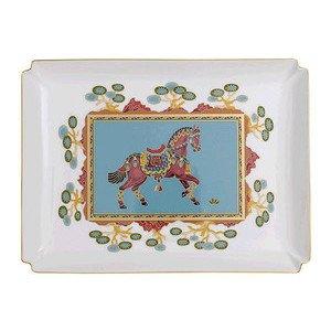 "Dekoschale 28 cm x 21 cm ""Samarkand Aquamarin Gifts"" Villeroy & Boch"