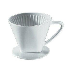 Kaffeefilter Größe 2 Keramik weiss glasiert Cilio