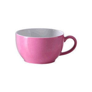 "Kaffee-Obertasse 250 ml ""Solid Color Pink"" rund Dibbern"