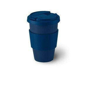 Coffee to go Becher 0,35 ltr.  Solid Color marine Dibbern