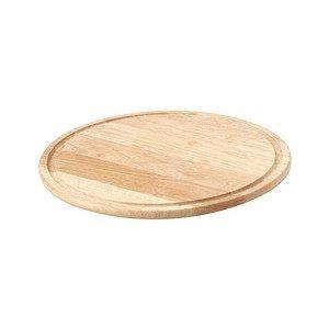 Pizzateller Durchmesser 33cm Gummibaum Continenta