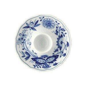 Eierbecher mit Ablage Zwiebelmuster blau Hutschenreuther