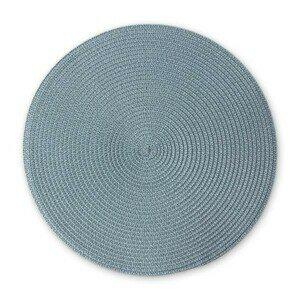 Tischset 38 cm graublau Continenta