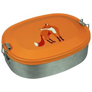 Lunchbox Fox Edelstahl The Zoo