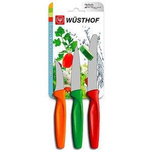Gemüsemesser Set, 3 tlg. farbig Wüsthof