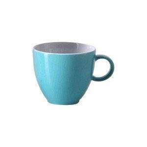 "Espresso-Obertasse 80 ml rund ""Sunny Day Turquoise"" turquois Thomas"
