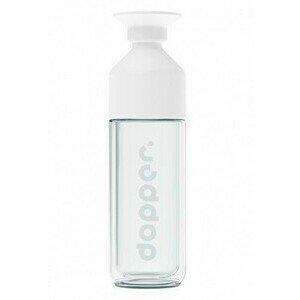 Isolierflasche 0,45 l Glas weiß Dopper