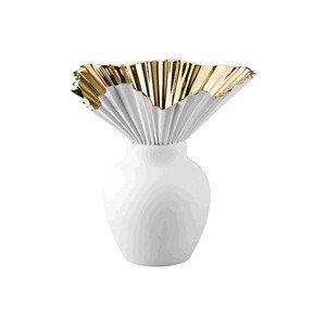 Vase 27 cm Falda gold titanisiert Rosenthal