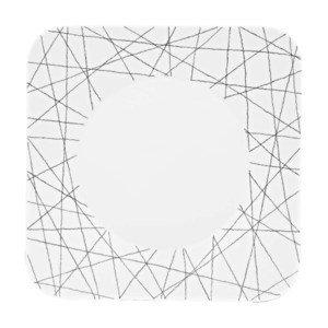 """Speiseteller 27 cm x 27 cm """"Free Spirit Stars"""" eckig Rosenthal"""