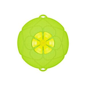 Kochblume grün Ø29cm Silikon 14-24cm Cookline