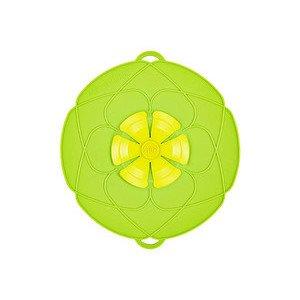Kochblume grün Silikon 14-24cm Cookline