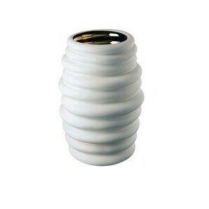 Vase 36 cm Hop white - gold Rosenthal