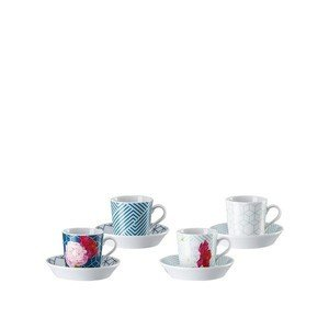 Espressotassen Set 8-tlg. Tric Vivid Bloom Mixed Arzberg
