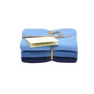 Wischtücher 3er-Set staubig blau Solwang