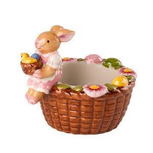 Teelichthalter Korb Hasenmädch Bunny Family Villeroy & Boch