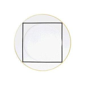 """Speiseteller 29 cm """"My China 2006 Ca' D'Oro 5705"""" Sieger Design by Fürstenberg"""