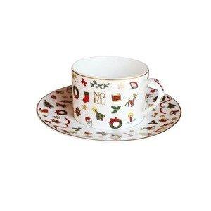Tee- / Kaffeetasse m. Untere Noel Oro Taitù
