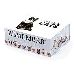 Remember - Das Gedächtnisspiel Memory Cats 44 Karten Remember
