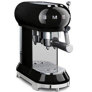 Espressomaschine 50's Style schwarz smeg