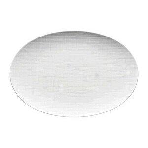 Platte 30 cm Mesh weiss oval Rosenthal