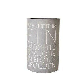 Flaschenkühler Durchmesser 13,5cm H.21,5cm Warheit im Wein d:13,5cm H:21,5cm Räder