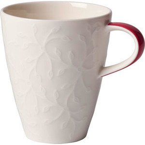 Becher m. H. 0,35ltr. Caffè Club Floral Touch of Rose Villeroy & Boch