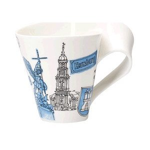 Becher m. Henkel 0,3 l Hamburg Cities of the World Mug Villeroy & Boch