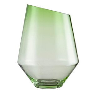 Vase/Windlicht 360 mm grün kla Diamonds ZWIESEL 1872