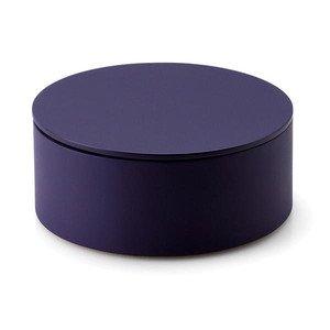 Aufbewahrungsdose Durchmesser 19 cm violett Continenta