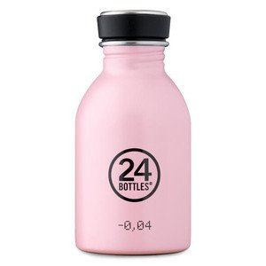 Trinkflasche 0,25l pastell-rosa 24bottles
