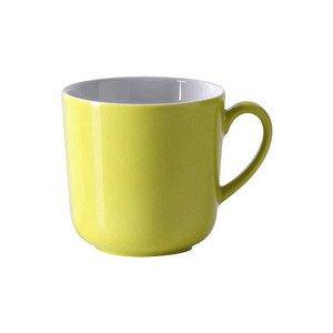 Becher 320 ml Solid Color Limone rund Dibbern
