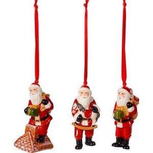 Ornamente Santa Claus 3 St. Nostalgic Ornaments Villeroy & Boch