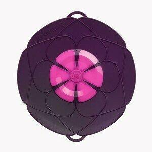 Kochblume lila Durchmesser 29cm Silikon 14-24cm Cookline
