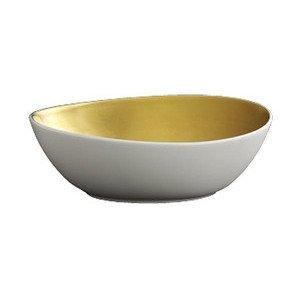 """Schale 14 cm """"Goldrausch"""" oval Dibbern"""