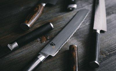 Küchenmesser, Kochmesser & Co. helfen bei der Speisezubereitung