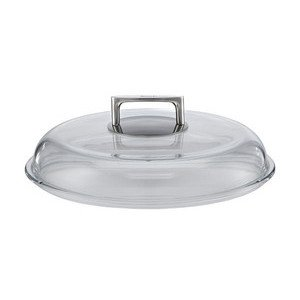 Glasdeckel 28 cm Borosilikat Rösle