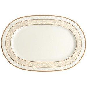 """Platte 35 cm oval """"Ivoire"""" Villeroy & Boch"""