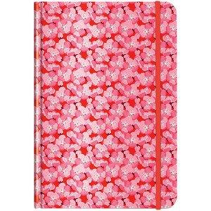 Notizbuch A5 Apfelblüte Pattern