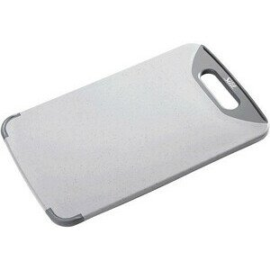 Schneidbrett Kunststoff grau 32x20cm Silit