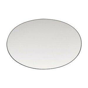 Platte 25,0 cm x 17,0 cm TAC Platin oval Rosenthal