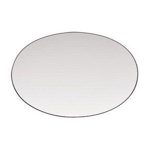 "Platte 25,0 cm x 17,0 cm ""TAC Platin"" oval Rosenthal"