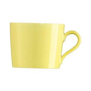 """Kaffee-Obertasse 210 ml zylindrisch """"Tric Gelb"""" Arzberg"""