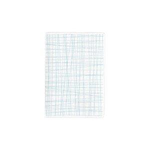 Platte flach 18x13cm Mesh Line Aqua Rosenthal