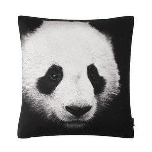 50x50 cm Kissen Panda schwarz weiss Proflax