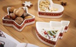Weihnachtsgeschirr für eine liebevolle und harmonische Weihnachtszeit