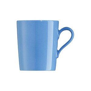 """Becher 310 ml zylindrisch mit Henkel """"Tric Blau"""" blau Arzberg"""