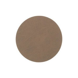 10 cm rund Untersetzer circle brown/Nupo LINDDNA