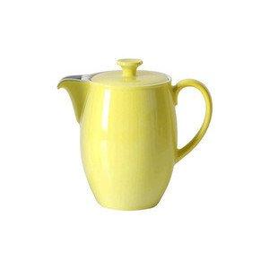 Kaffeekanne 1,25 l Solid Color zitrone Dibbern