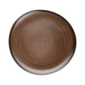 Teller flach 25 cm Junto Bronze Rosenthal
