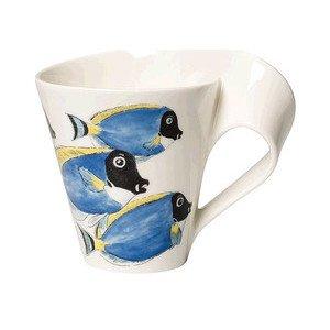 Becher m. Henkel 0,3 ltr. GK NewWave Caffe Doktorfisch Villeroy & Boch